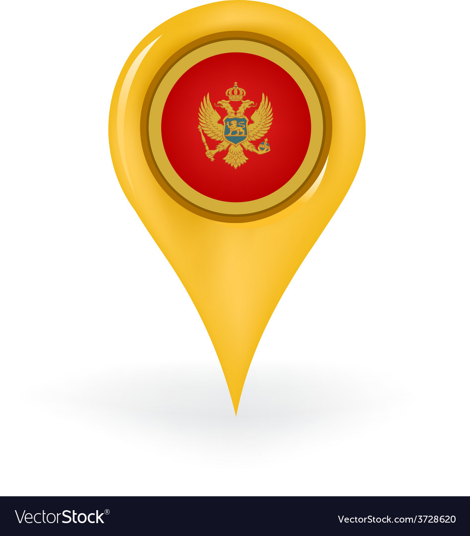 Location montenegro vector | Price: 1 Credit (USD $1)