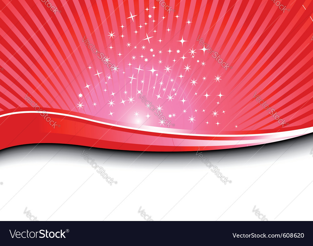 Red magical background vector | Price: 1 Credit (USD $1)