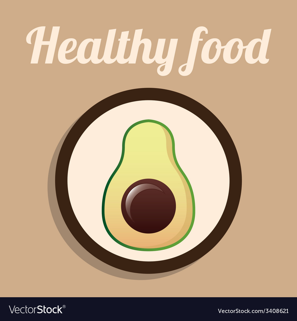 Healthy food design vector | Price: 1 Credit (USD $1)