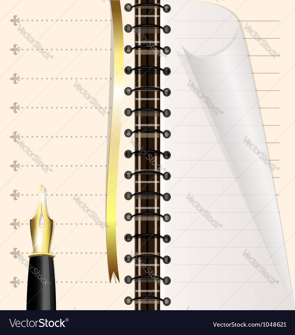 Page notebook vector   Price: 1 Credit (USD $1)