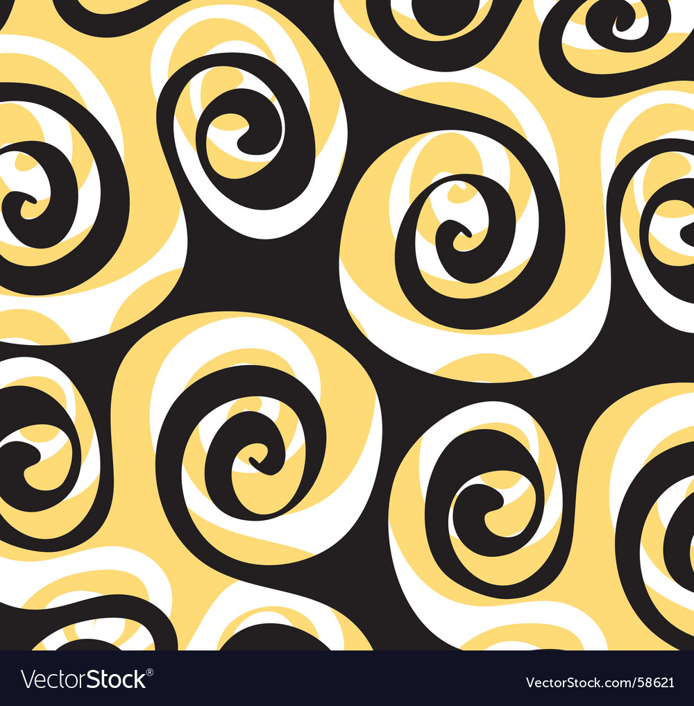 Pattern swirl vector