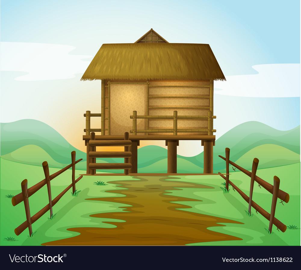 A hut vector | Price: 1 Credit (USD $1)
