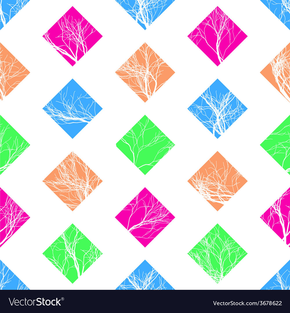 Abstract colorful squares seamless pattern vector   Price: 1 Credit (USD $1)
