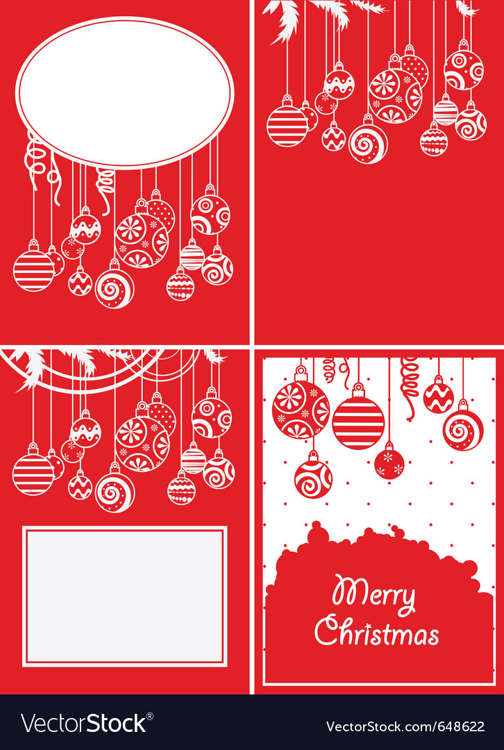Christmas ball backgrounds vector | Price: 1 Credit (USD $1)