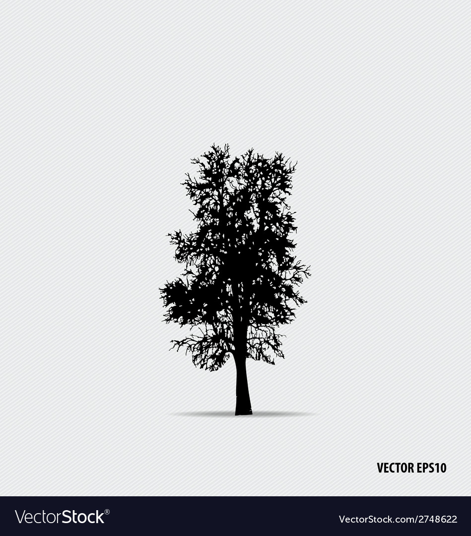 Tree silhouettes vector   Price: 1 Credit (USD $1)