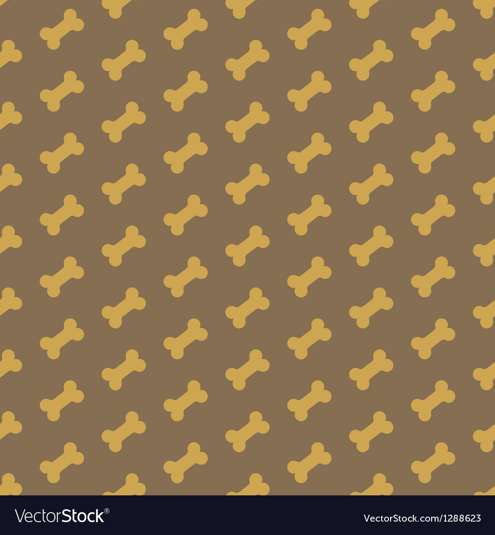 Bone for dog seamless texture vector | Price: 1 Credit (USD $1)