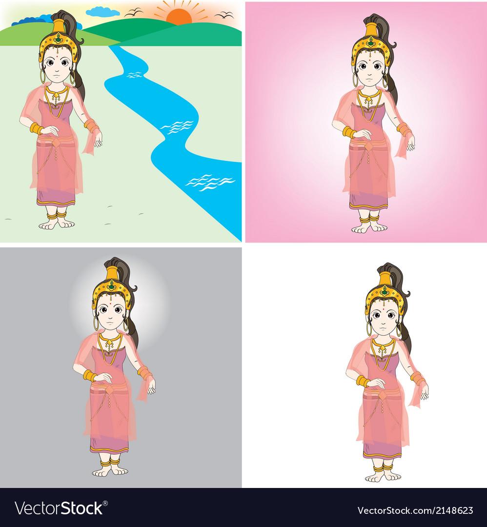 Queen sri ri ma ha ma ya vector | Price: 1 Credit (USD $1)