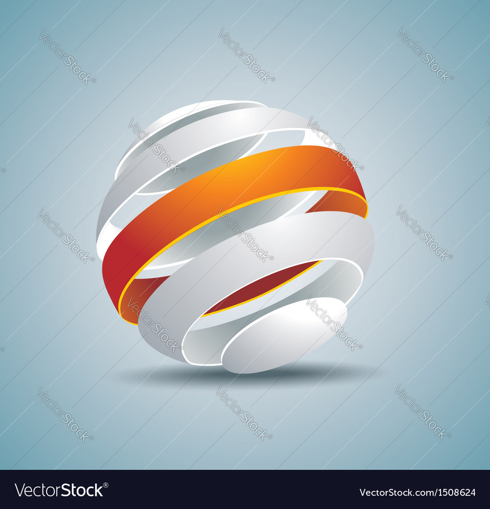 Abstract globe symbol internet and social network vector | Price: 1 Credit (USD $1)
