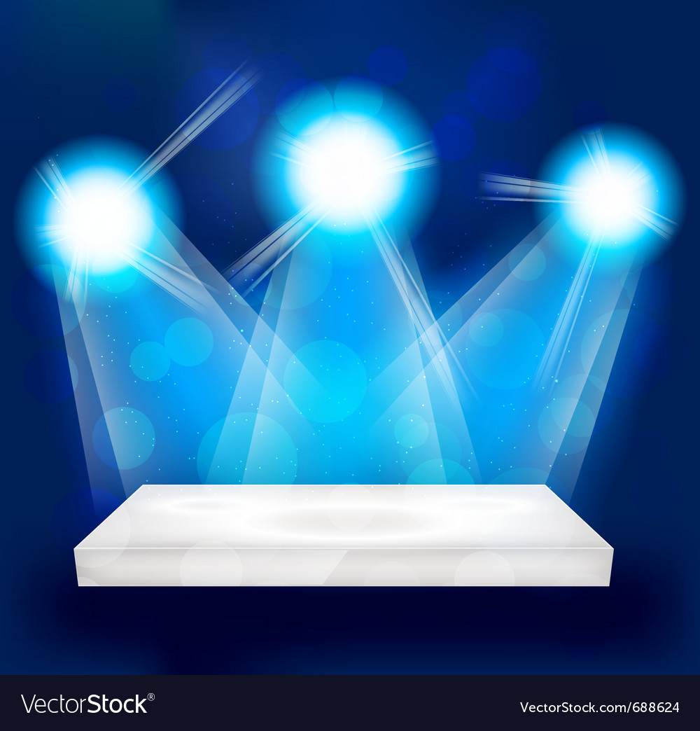 Bright lights vector | Price: 1 Credit (USD $1)