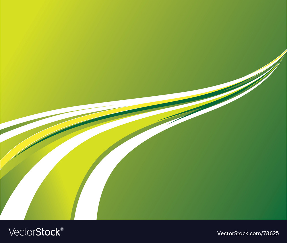 Abstract background of green stripes vector | Price: 1 Credit (USD $1)