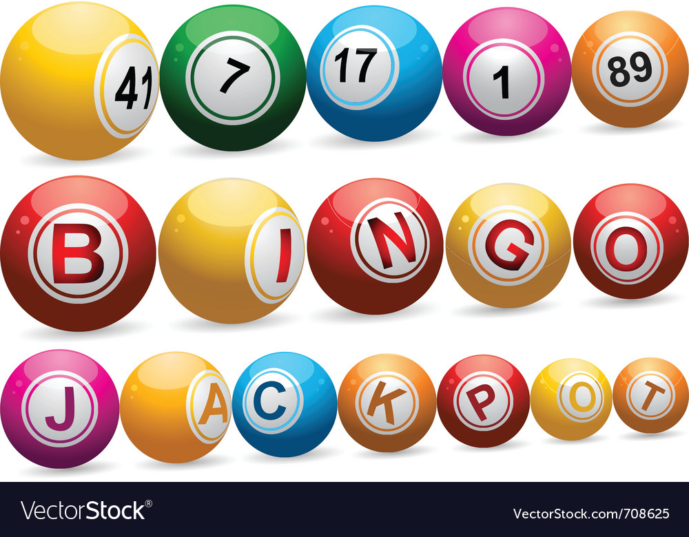 Bingo balls vector | Price: 1 Credit (USD $1)