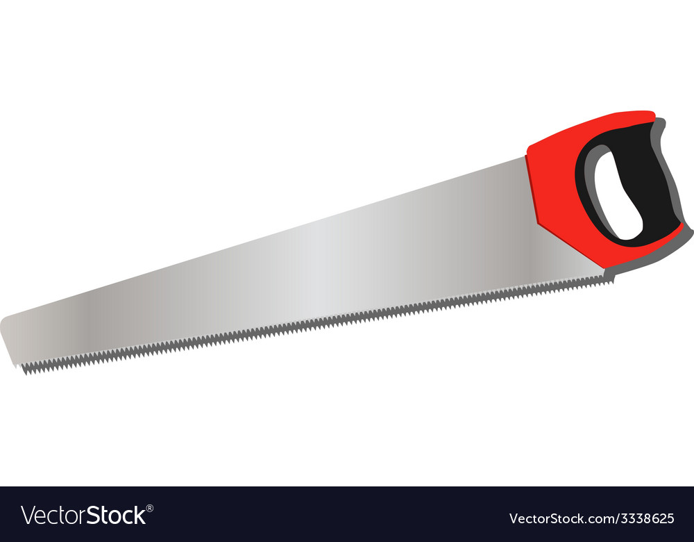 Hand saw vector | Price: 1 Credit (USD $1)