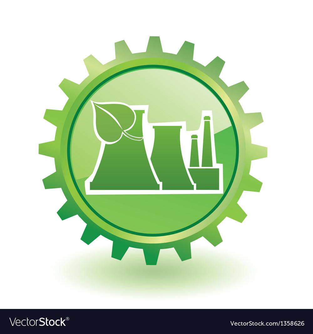 Industrial building vector | Price: 1 Credit (USD $1)
