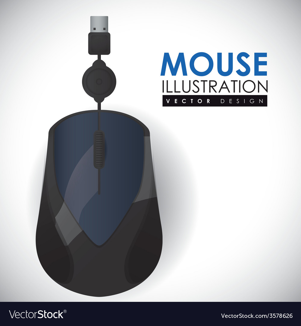 Mouse icon design eps10 graphic vector | Price: 1 Credit (USD $1)