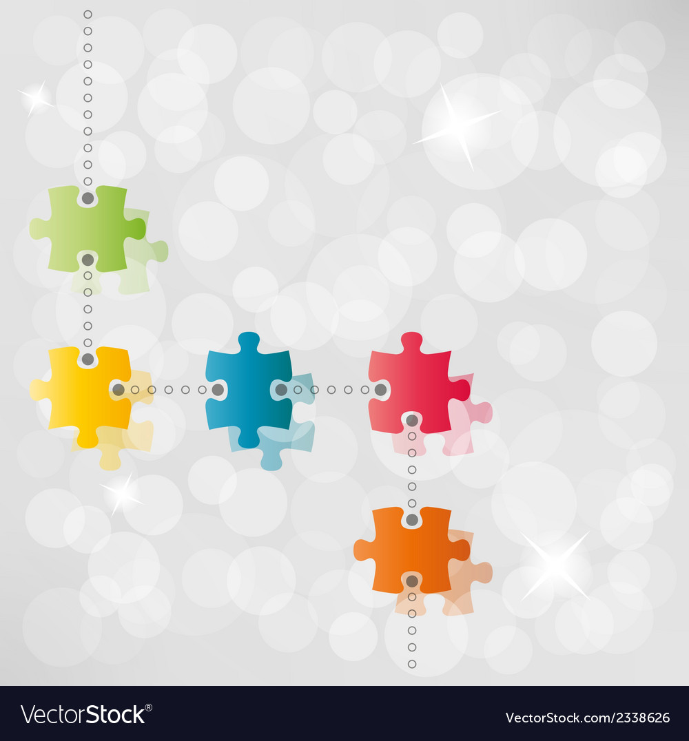 Puzzle path background vector | Price: 1 Credit (USD $1)