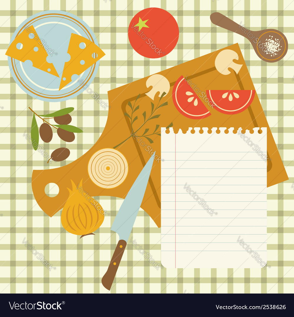 Recipe vector | Price: 1 Credit (USD $1)