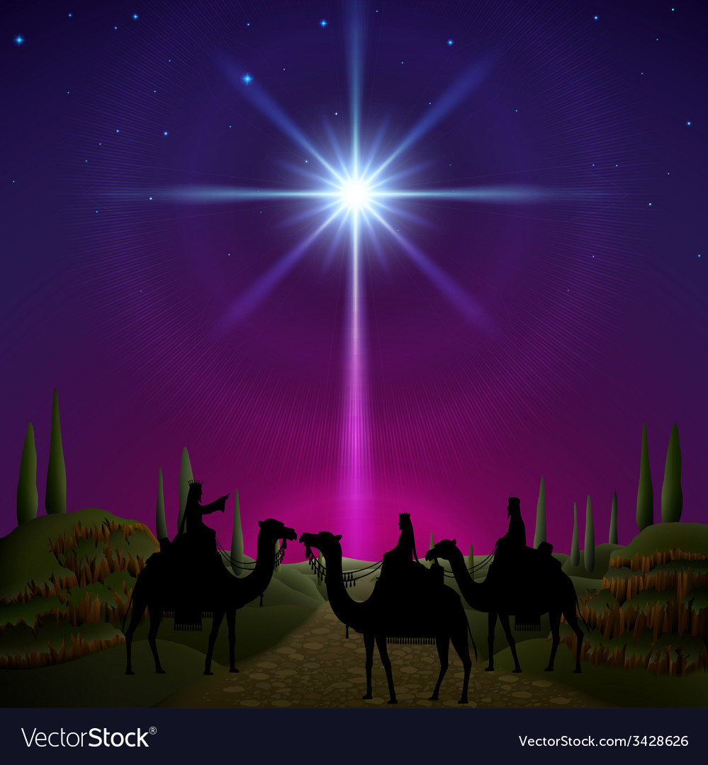 Three wise men vector | Price: 3 Credit (USD $3)