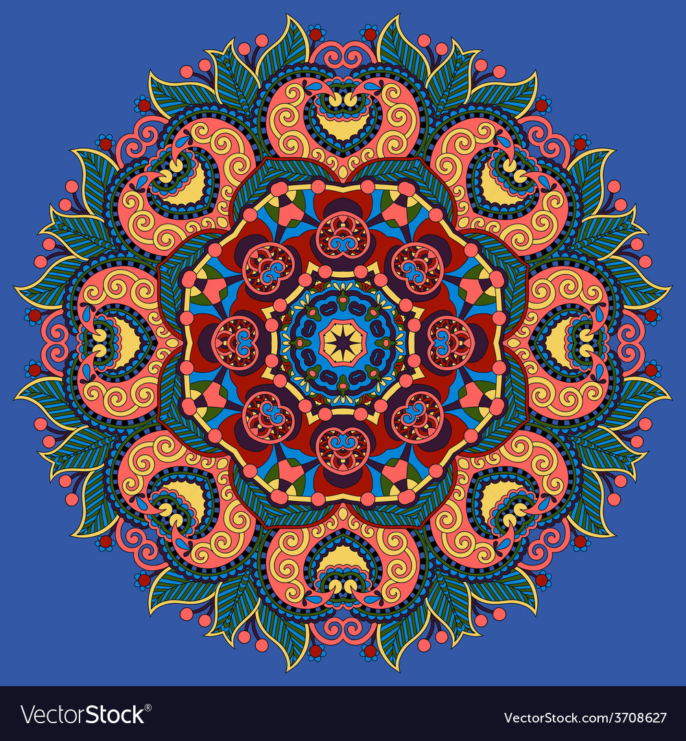 Indian symbol of lotus flower vector | Price: 1 Credit (USD $1)