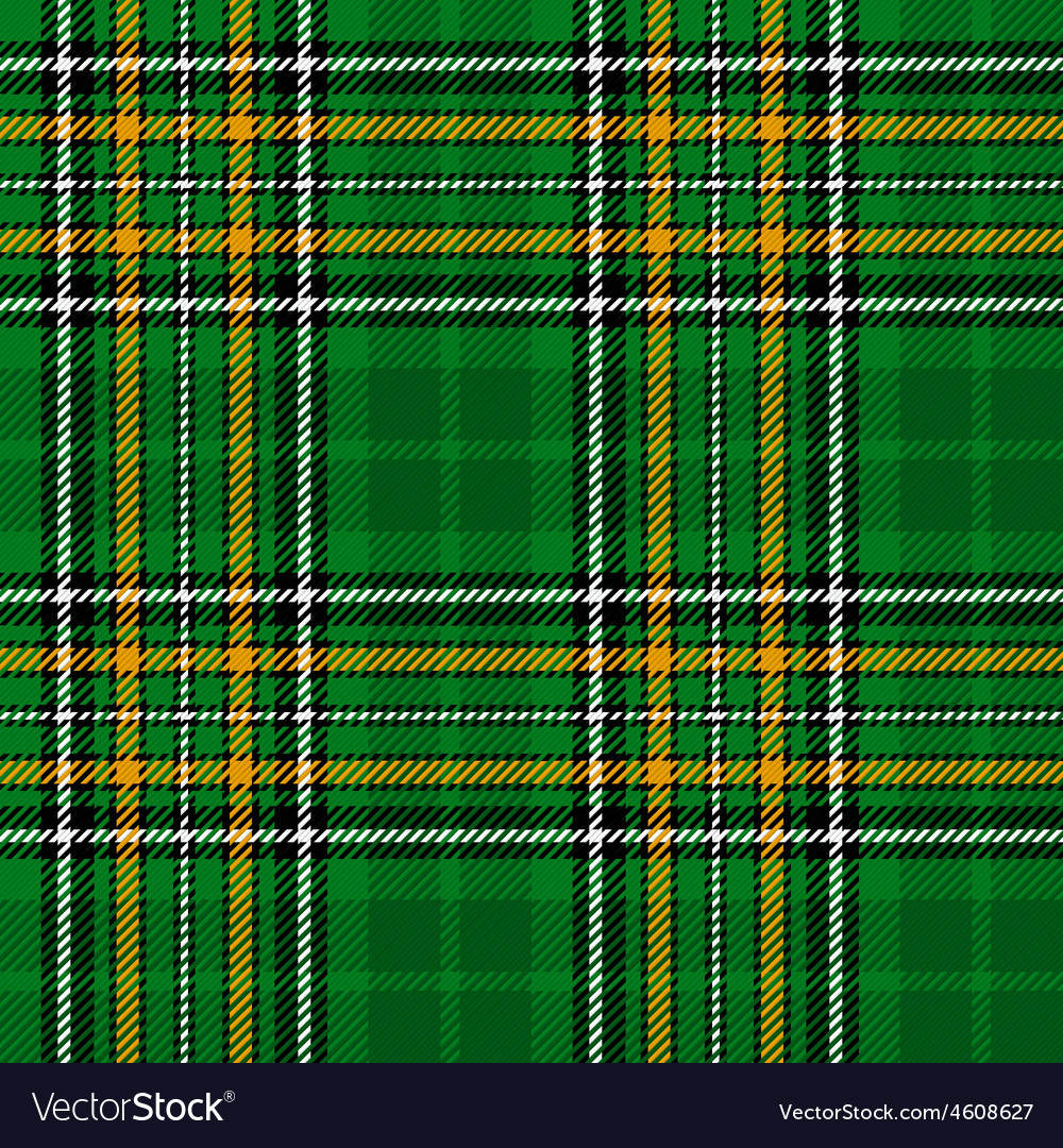 Ireland national tartan vector | Price: 1 Credit (USD $1)