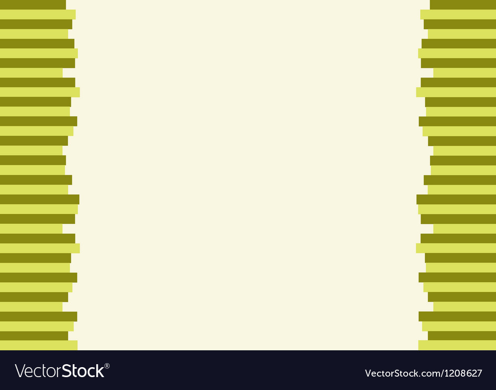 The modern horizontal of green lines background vector | Price: 1 Credit (USD $1)
