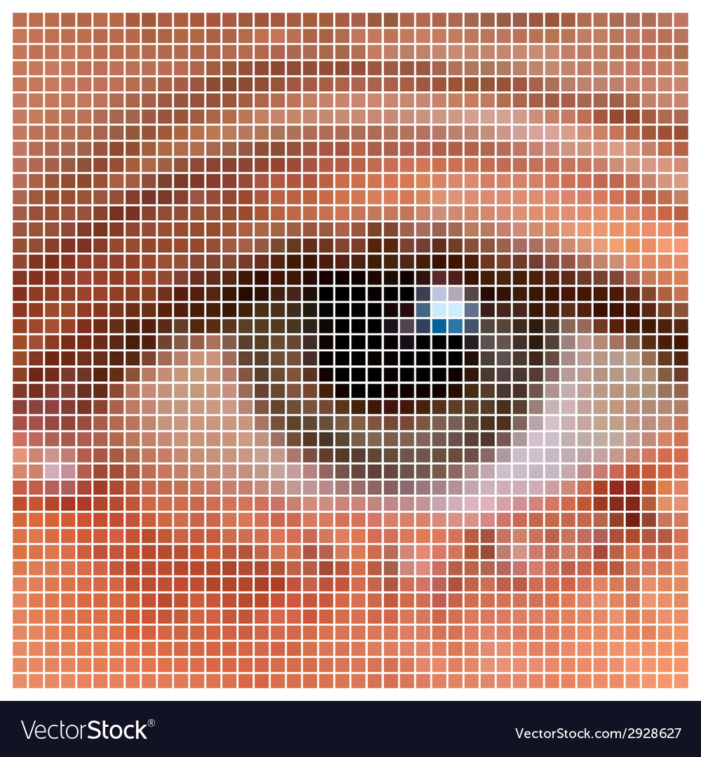 Pixel eye vector | Price: 1 Credit (USD $1)
