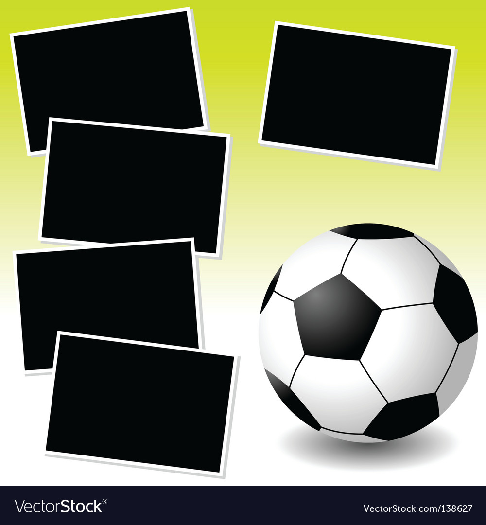 Soccer photo adventure vector | Price: 1 Credit (USD $1)
