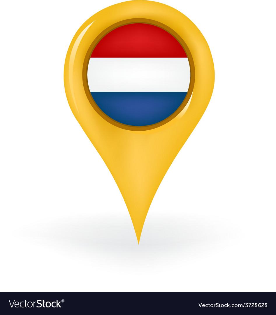 Location netherlands vector | Price: 1 Credit (USD $1)