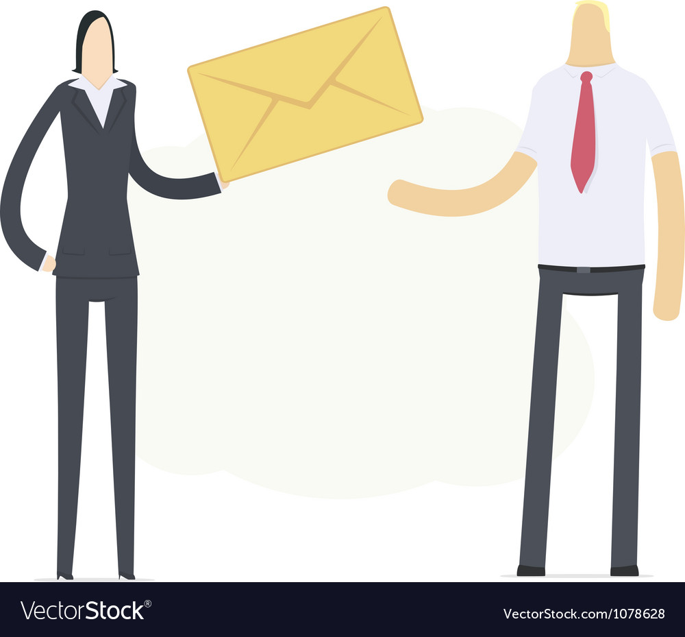 Manager sends an important message vector | Price: 3 Credit (USD $3)