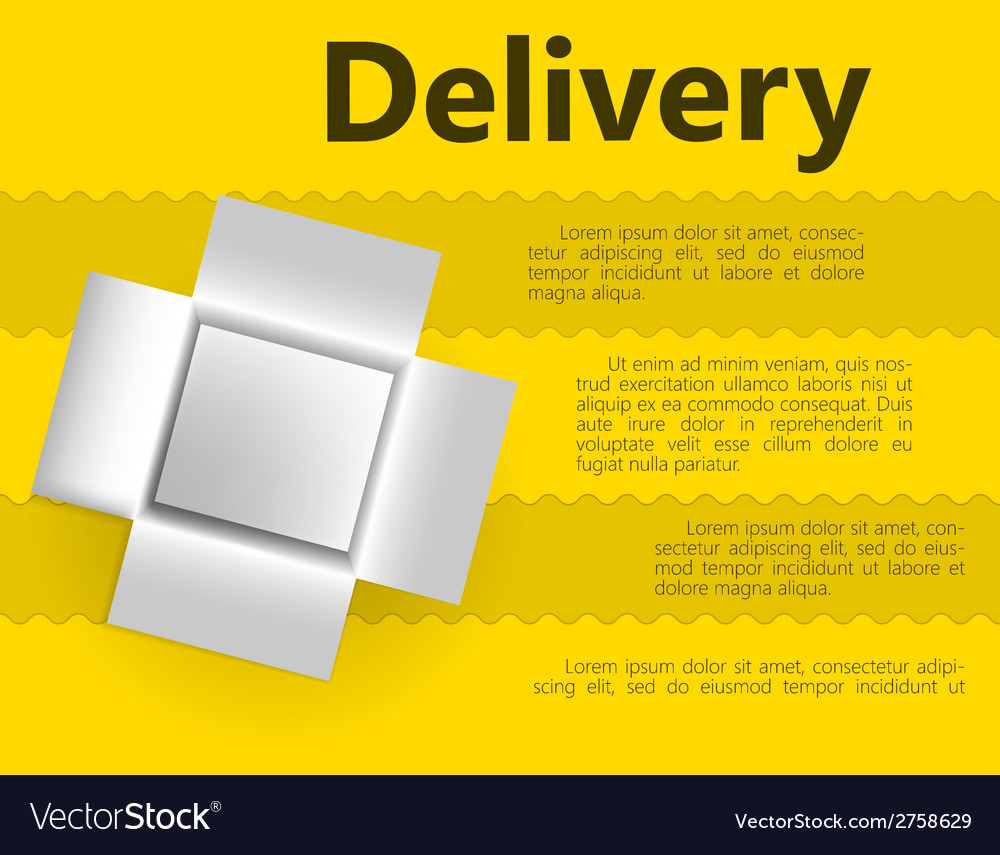 For delivery gift vector | Price: 1 Credit (USD $1)