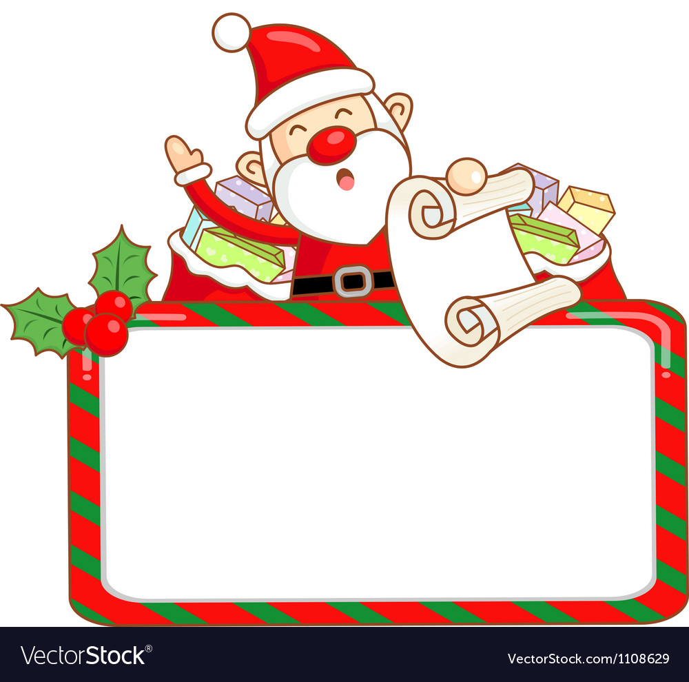 Santa claus mascot the event activity vector | Price: 1 Credit (USD $1)