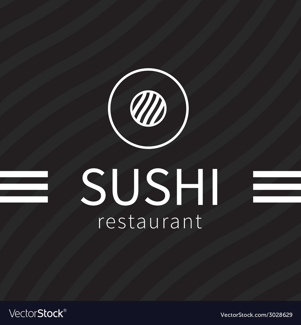 Sushi logo vector | Price: 1 Credit (USD $1)