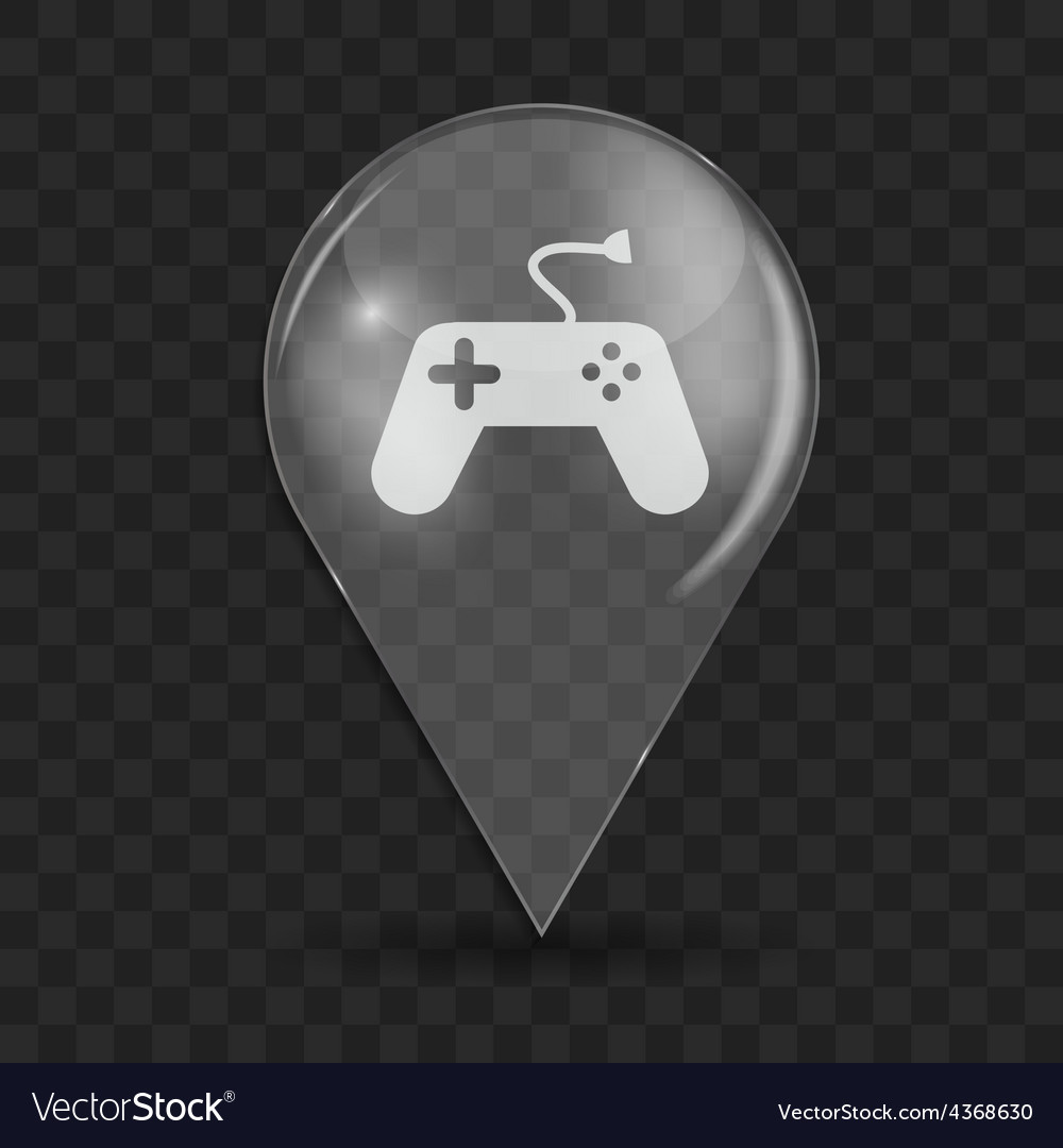 Game and fun glossy icon vector   Price: 1 Credit (USD $1)