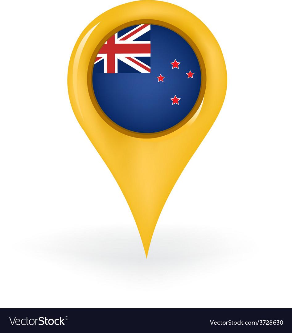 Location new zealand vector | Price: 1 Credit (USD $1)