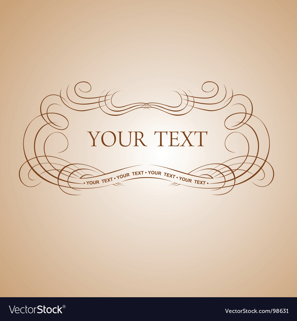 Calligraphy text vector   Price: 1 Credit (USD $1)