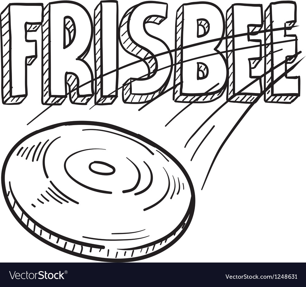 Frisbee vector | Price: 1 Credit (USD $1)