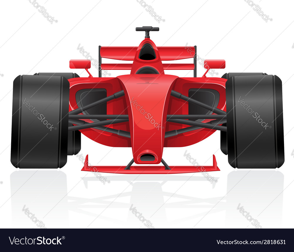 Racing car 01 vector | Price: 3 Credit (USD $3)