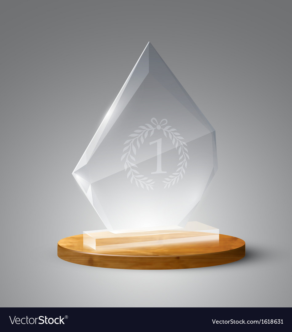 Realistic award vector | Price: 1 Credit (USD $1)