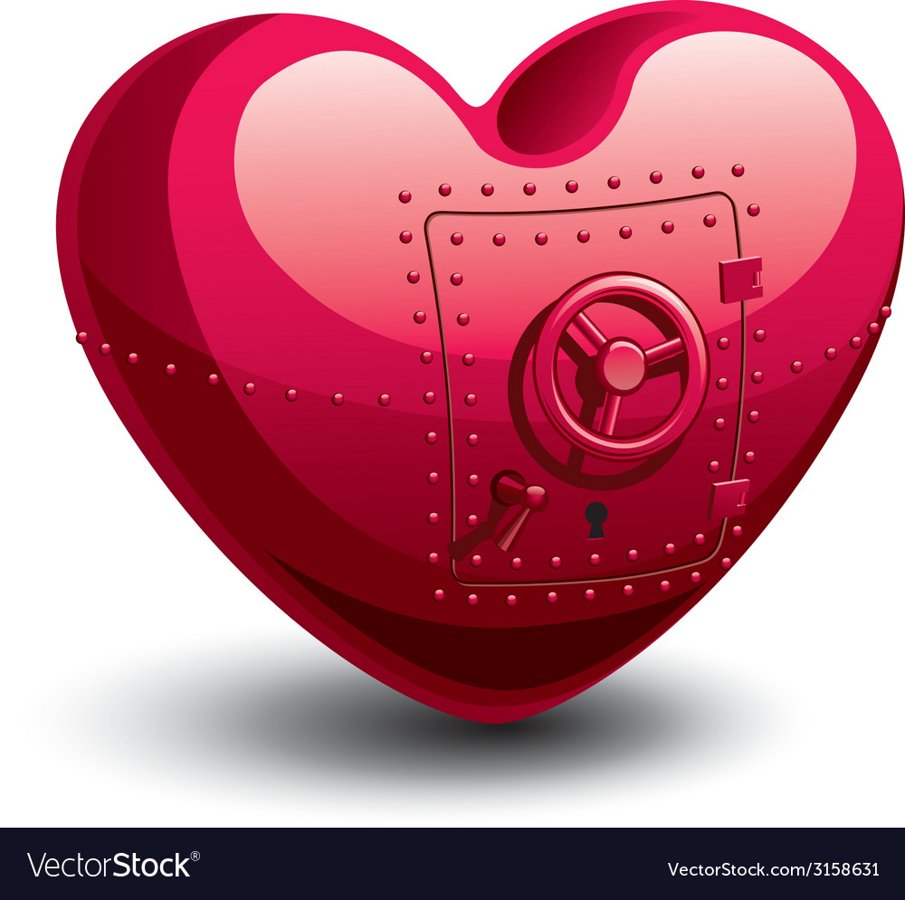 Safe heart vector | Price: 1 Credit (USD $1)