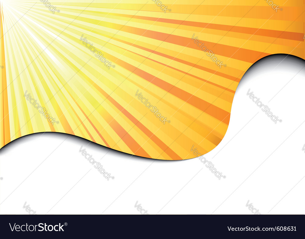 Sunburst banner - sun concept vector | Price: 1 Credit (USD $1)