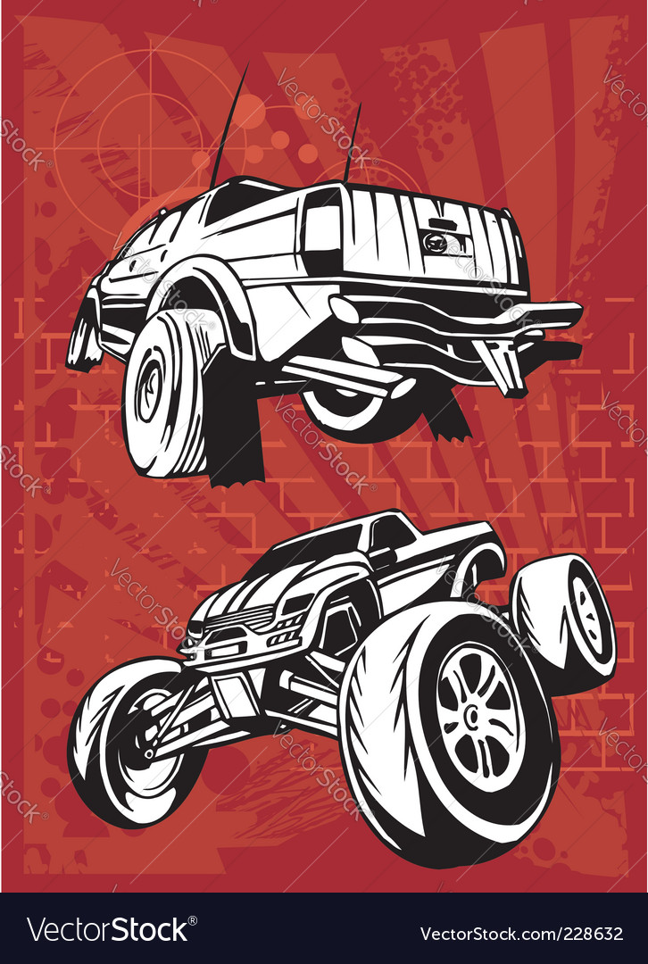 Buggy and bike vector | Price: 1 Credit (USD $1)