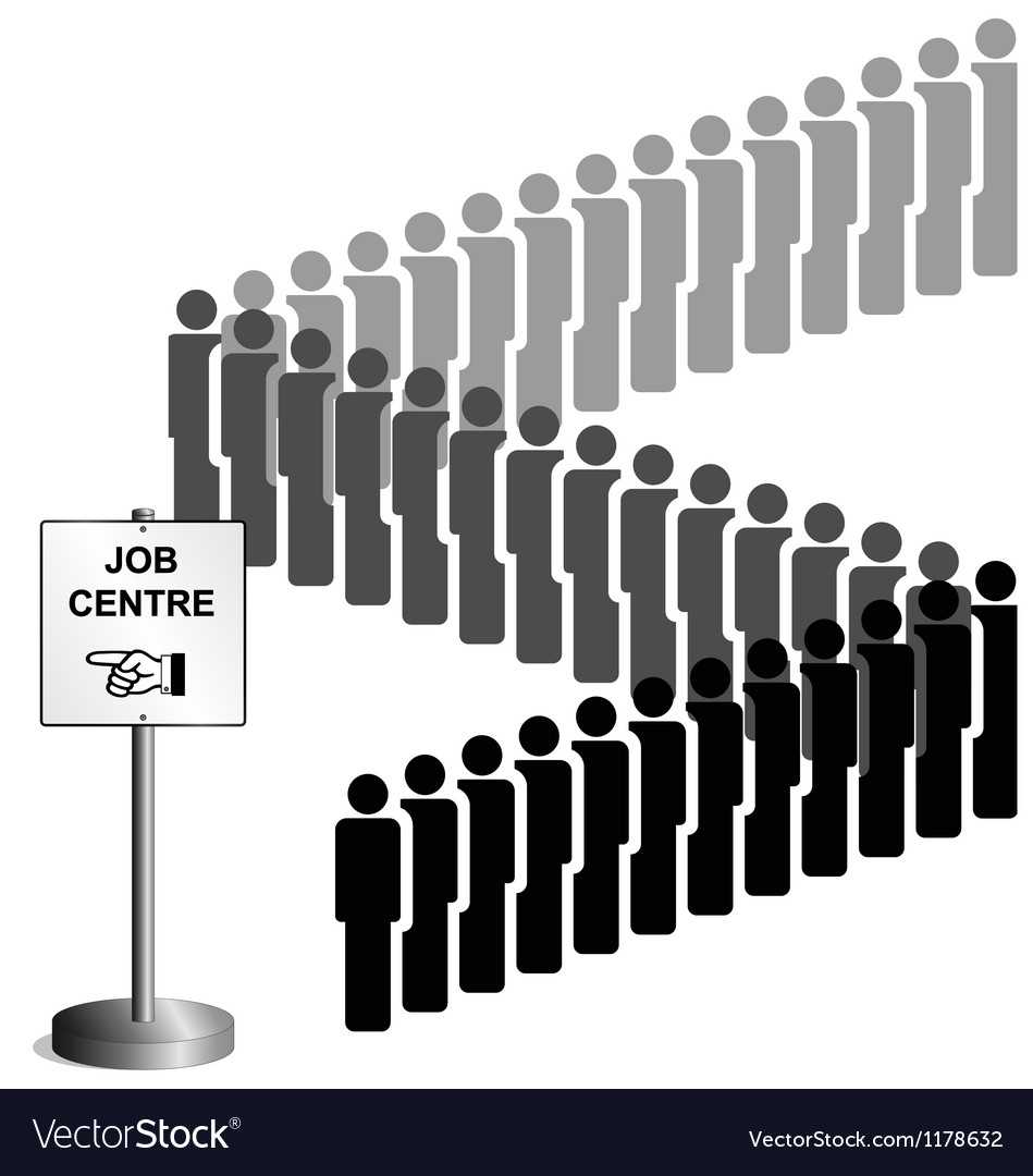 Job centre uk version vector | Price: 1 Credit (USD $1)