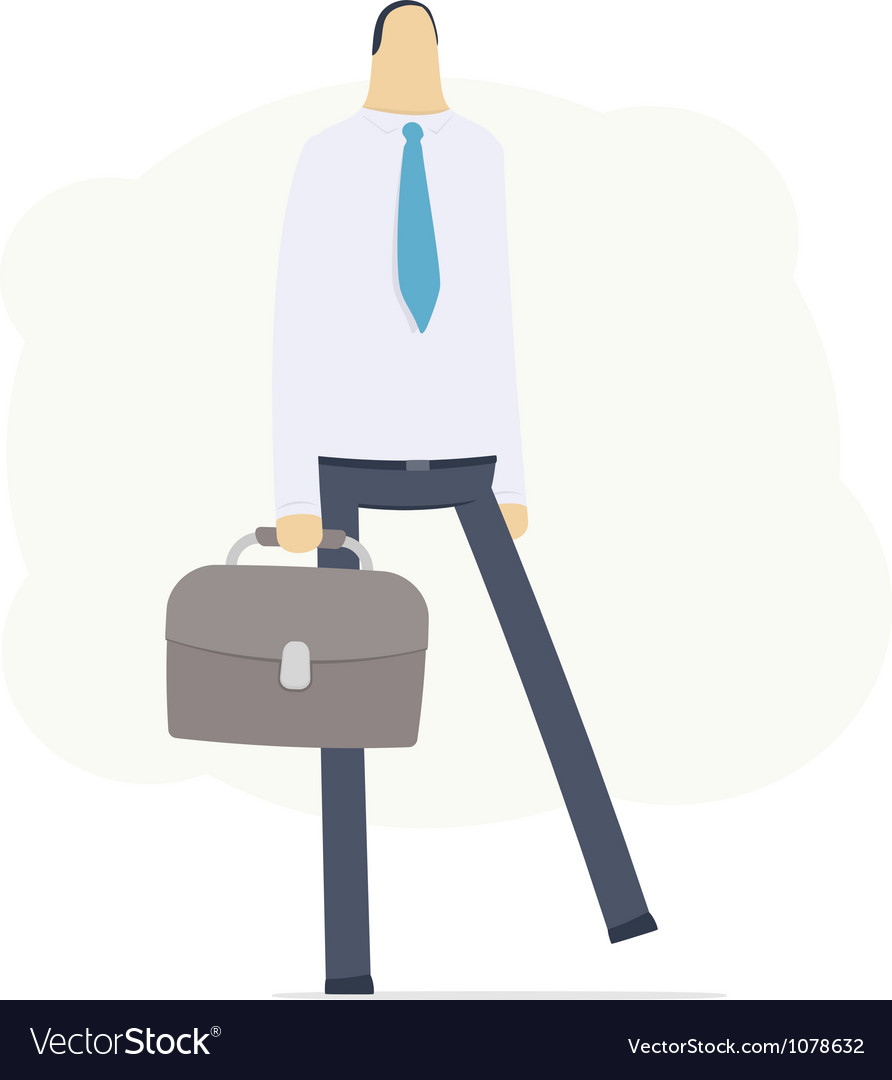 Manager go to work vector | Price: 3 Credit (USD $3)