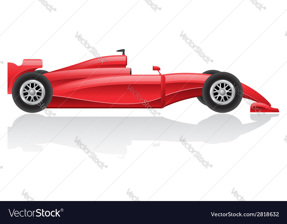 Racing car 02 vector | Price: 3 Credit (USD $3)