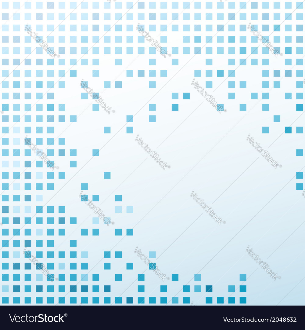 Tile modern particle background template vector | Price: 1 Credit (USD $1)