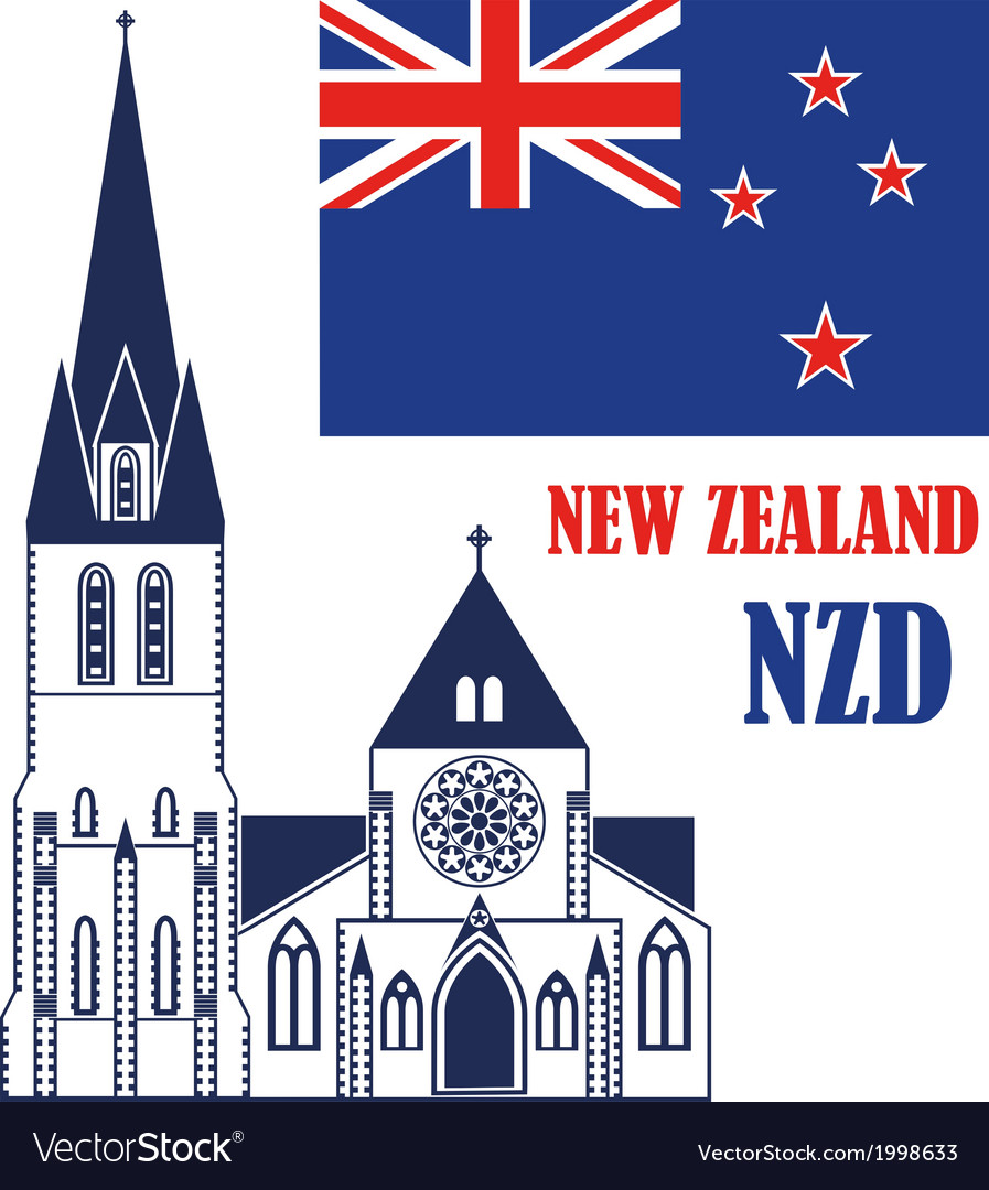 New zealand vector | Price: 1 Credit (USD $1)
