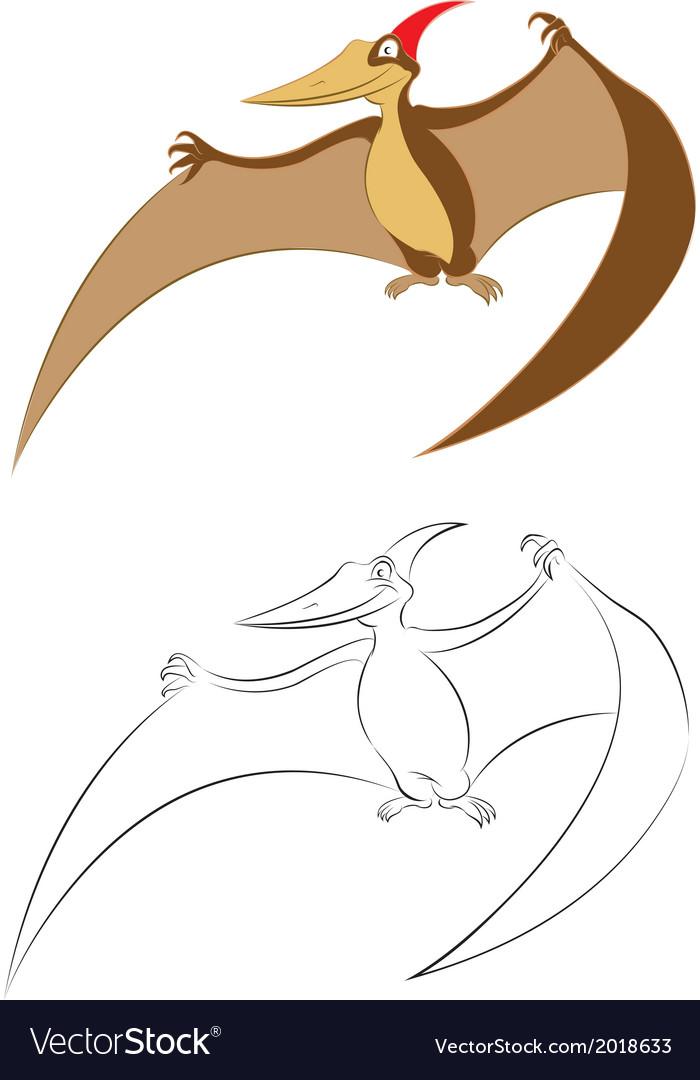 Pterano vector | Price: 1 Credit (USD $1)