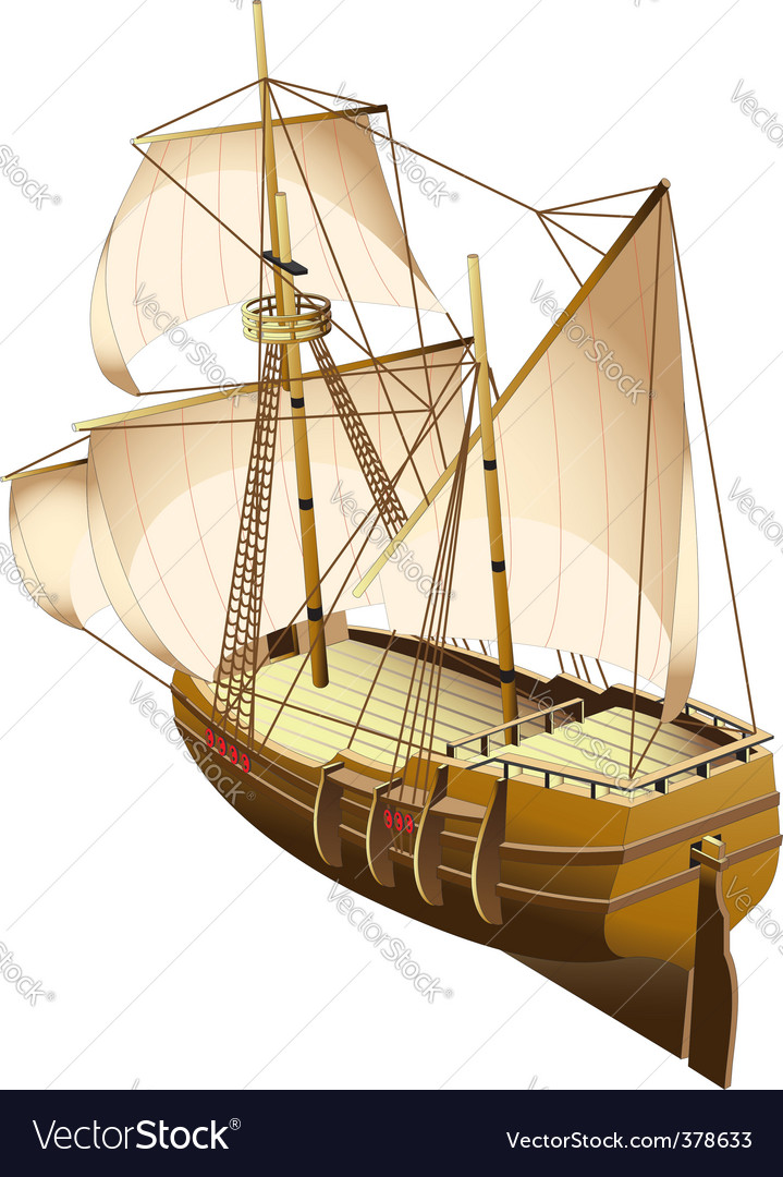 Tall ship vector | Price: 5 Credit (USD $5)
