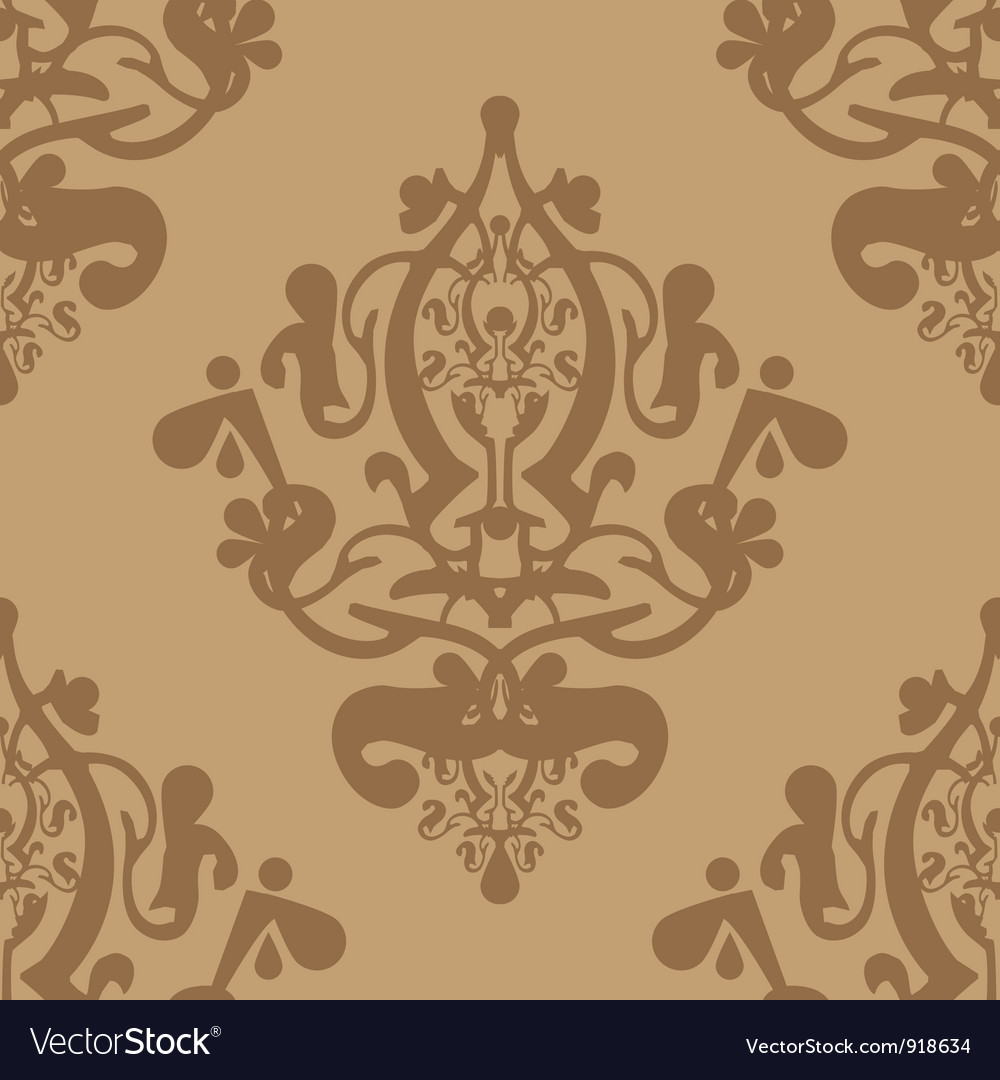 Brown pattern vector | Price: 1 Credit (USD $1)