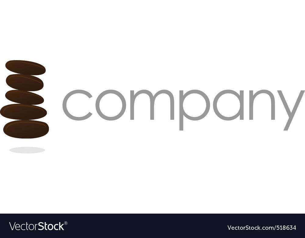 Stones logo  business company vector | Price: 1 Credit (USD $1)