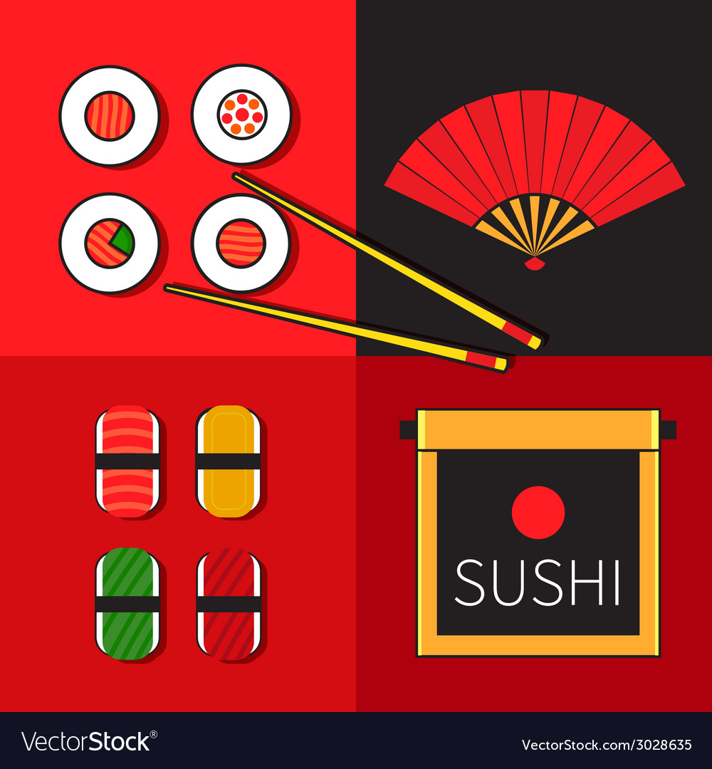 Japanese icon vector | Price: 1 Credit (USD $1)